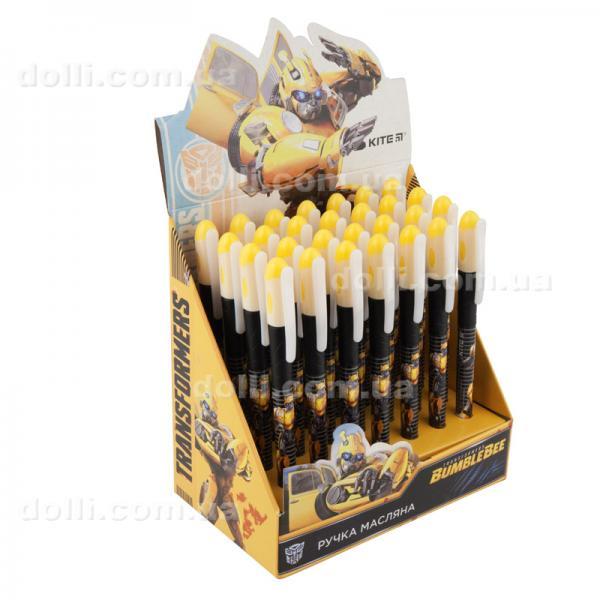 Ручка масляная Kite Transformers BumbleBee Movie TF19-033