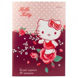 Картон белый односторонний Kite Hello Kitty HK19-254
