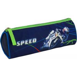 Пенал без наполнения школьный Kite Moto racing K16-667-1