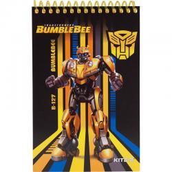 Блокнот пластиковый KITE Transformers TF19-196, А6, 48 листов, нелинованный