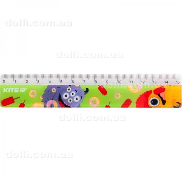 Линейка пластиковая Kite Jolliers K19-090-2