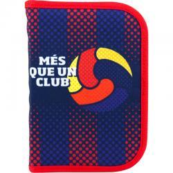 Пенал без наполнения школьный Kite FC Barcelona BC18-622
