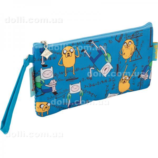 Пенал без наполнения школьный Kite Adventure Time AT17-664