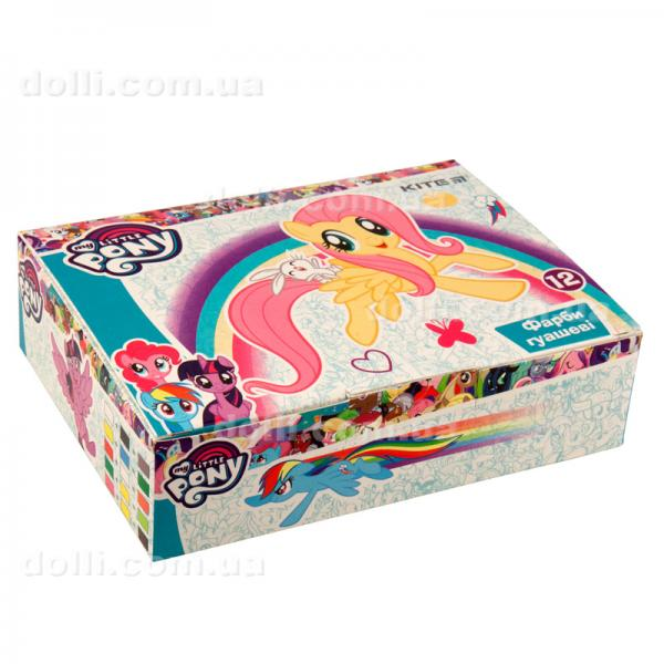 Гуашь 12 цветов 20мл Kite My Little Pony LP19-063
