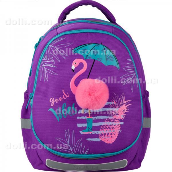 Рюкзак школьный полукаркасный Kite Education Beautiful tropics K20-700M(2p)-1