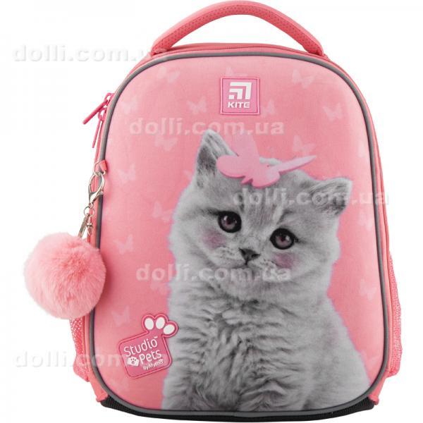 Рюкзак школьный каркасный Kite Education Studio Pets SP20-555S