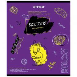 Тетрадь, биология, 48 лист., кл. об. лак, Classic, биология K21-240-01