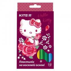 Пластилин мягкий 12 цветов Kite Hello Kitty HK19-086