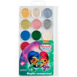 Краски акварельные 18 цветов Kite Shimmer & Shine SH18-042