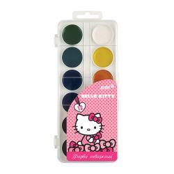 Краски акварельные 12 цветов Kite Hello Kitty HK17-061
