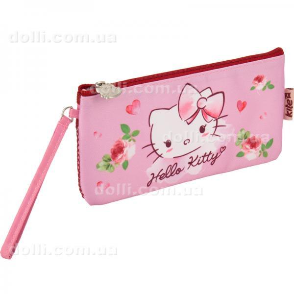Пенал без наполнения школьный Kite Hello Kitty HK17-664
