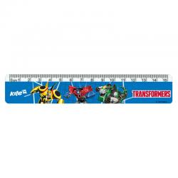 Линейка пластиковая Kite Transformers TF17-090