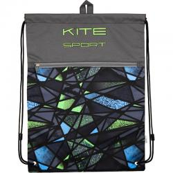 Сумка для сменной обуви спортивной формы с доп. карманом Kite Sport K18-601L-5