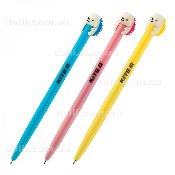Ручка шариковая Kite Pets Hedgehog K19-030-03