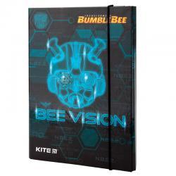 Папка для тетрадей B5, на резинках, картон Kite Transformers TF19-210