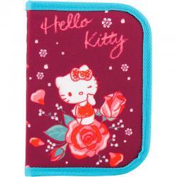 Пенал без наполнения школьный Kite Hello Kitty HK18-621-2