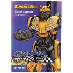Картон белый односторонний Kite Transformers TF19-254
