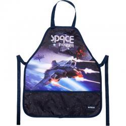 Фартук для творчества с нарукавниками Kite Space Trip K19-161-7