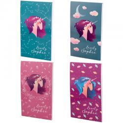 Блокнот-планшет Kite Lovely Sophie K19-195-3, А6, 50 листов, нелинованный