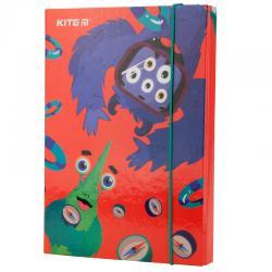 Папка для тетрадей B5, на резинках, картон Kite Jolliers K19-210