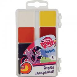 Краски акварельные 8 цветов Kite My Little Pony LP17-065