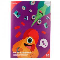 Картон цветной двусторонний Kite Jolliers K19-255