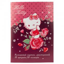 Картон цветной двусторонний Kite Hello Kitty HK19-255