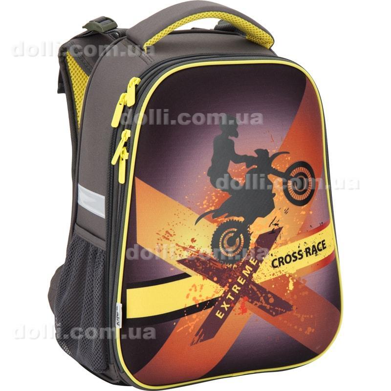 5b090e67129a Ранец школьный ортопедический каркасный ТМ Kite Cross race K17-531M ...