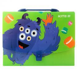 Портфель-коробка пластиковый на защелке Kite А4 Jolliers K19-209