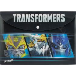 Папка на кнопке А4 Kite Transformaers TF15-200K