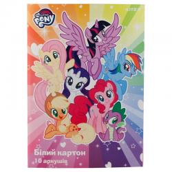 Картон белый односторонний Kite My Little Pony LP19-254