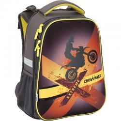 Ранец школьный ортопедический каркасный ТМ Kite Cross race K17-531M-3