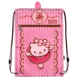 Сумка для сменной обуви спортивной формы с доп. карманом Kite Hello Kitty HK18-601M-1