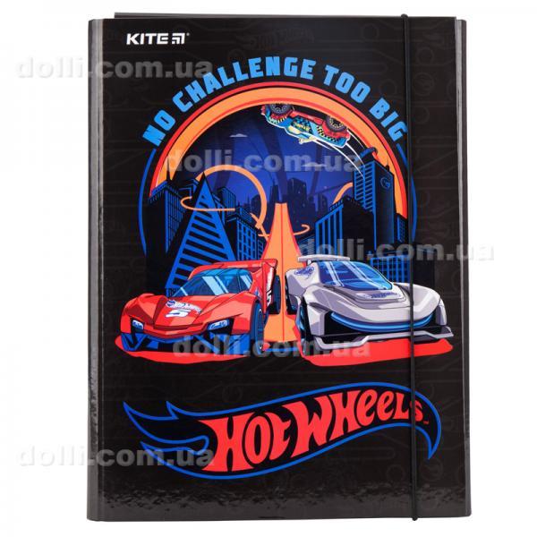 Папка для трудового обучения, А4 Kite Hot Wheels HW19-213