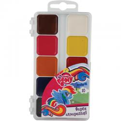 Краски акварельные 10 цветов Kite My Little Pony LP17-060