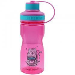 Качественная бутылочка для воды Kite Sweet moment K21-397-1, 500 мл, розовая