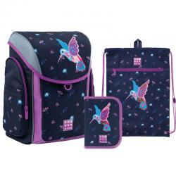 Набор рюкзак,сумка,пенал Kite. Ранцы Kite для первоклассников и учеников младшей школы.