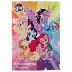 Картон белый односторонний Kite My Little Pony LP19-254