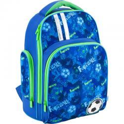 Рюкзак школьный ортопедический Football K18-706M-1
