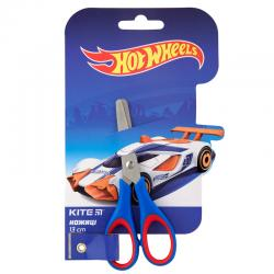 Ножницы детские с рез. вставками 13 см Hot Wheels HW19-123