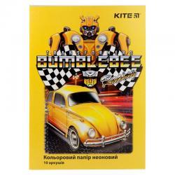Бумага цветная неоновая Kite Transformers TF19-252