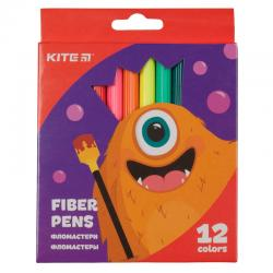 Фломастеры 12 цветов Kite Jolliers K19-047