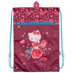 Сумка для сменной обуви спортивной формы с доп. карманом Kite Hello Kitty HK18-601M-21