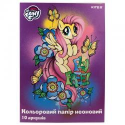 Бумага цветная неоновая Kite My Little Pony LP19-252