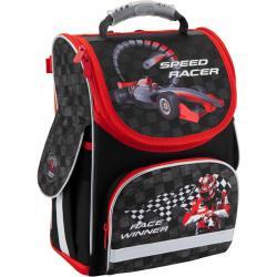 """Ранец школьный ортопедический каркасный """"трансформер"""" Kite Speed Racer K18-500S-1"""