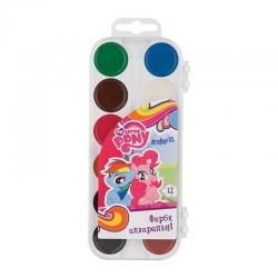 Краски акварельные 12 цветов Kite Little Pony LP17-061