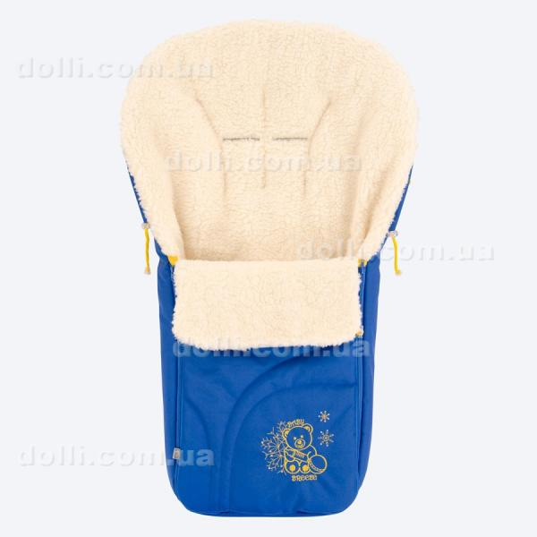 Зимний конверт в коляску на овечьей шерсти (на овчине) 0304 Baby Breeze