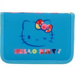 Пенал без наполнения школьный Kite Hello Kitty HK17-622