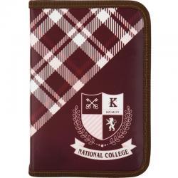 Пенал без наполнения школьный Kite College K17-621-3
