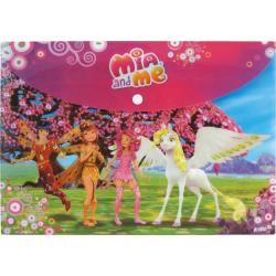 Папка на кнопке А4 Kite Mia&Me MM15-200K
